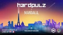 Char Hardpulz Mandala Techno Parade 2018