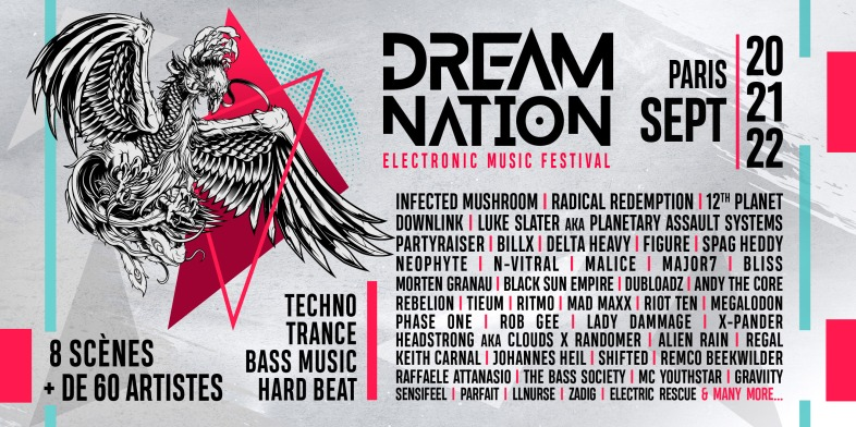 Top 5 - Dream Nation - Line up - Passion BPM