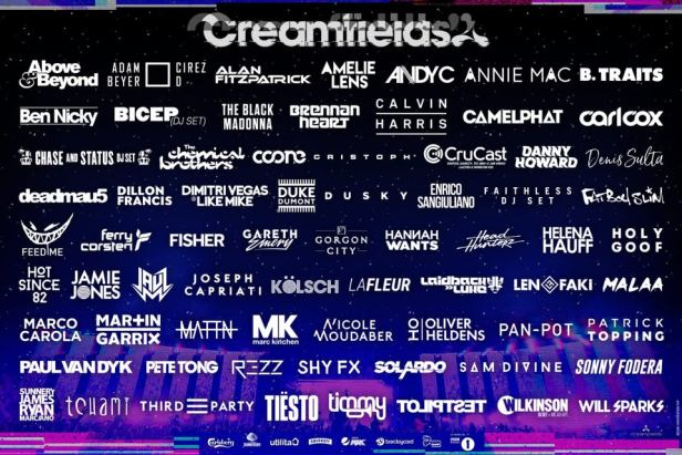 Creamfields 2019 line up - Passion BPM