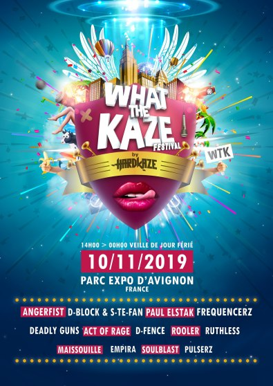 What The Kaze - Passion BPM - Hardkaze - visuel full line up